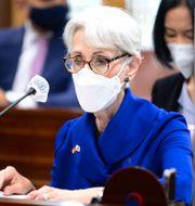 USA:s biträdande utrikesminister Wendy Sherman. TT NYHETSBYRÅN