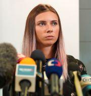 Kristina Timanovskaja. Arkivbild. STRINGER / BILDBYRÅN