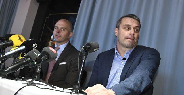 Daniel Kindberg efter domen. Claudio Bresciani/TT / TT NYHETSBYRÅN