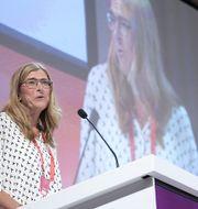 Therese Guovelin, LO:s första vice ordförande.  Arkivbild. TT