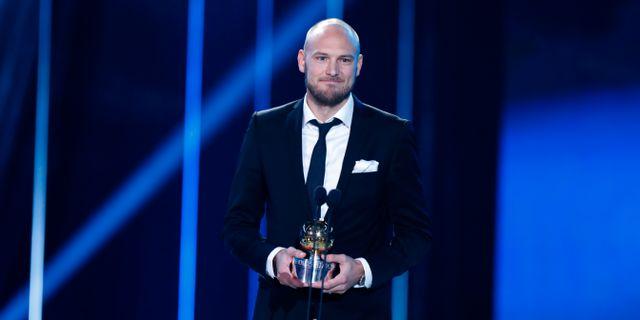 Andreas Granqvist på Fotbollsgalan 2017. Christine Olsson/TT / TT NYHETSBYRÅN