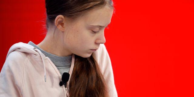 Greta Thunberg. Markus Schreiber / TT NYHETSBYRÅN