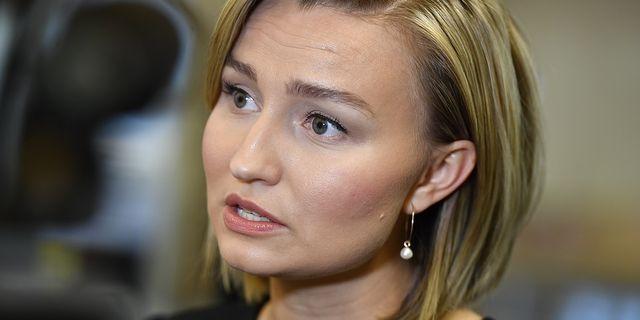 Kristdemokraternas Ebba Busch Thor.  TT