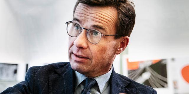 Ulf Kristersson (M) Simon Rehnström/SvD/TT / TT NYHETSBYRÅN