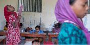 Arkivbild. Klassrum i Bangladesh.  A.M. Ahad / TT NYHETSBYRÅN