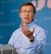 Ulf Kristersson. Arkivbild. Anders Wiklund/TT / TT NYHETSBYRÅN