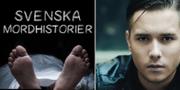 "Sebastian Krantz driver podden ""Svenska Mordhistorier"". Svenska mordhistorier / Pressbild/Stockhouse"