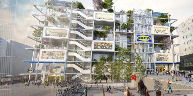 Vill locka unga storstadsbor. IKEA