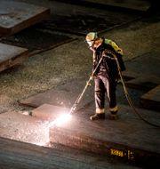 Arkivbild: SSAB:s järnverk i Oxelösund.  Marcus Ericsson/TT / TT NYHETSBYRÅN