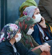 Boende i Izmir.  Darko Bandic / TT NYHETSBYRÅN