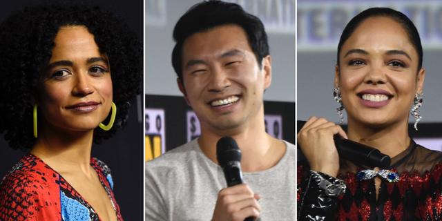 Lauren Ridloff, Simu Liu och Tessa Thompson kommer ha betydande filmroller i kommande Marvel-filmer. TT