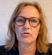 Juno Blom/Annie Lööf.  SVT/TT