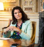 Utrikesminister Ann Lindes pressekreterare hänvisar till UD:s pressavdelning. Claudio Bresciani / TT / TT NYHETSBYRÅN