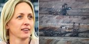 Jytte Guteland/kolgruva i Tyskland.  TT