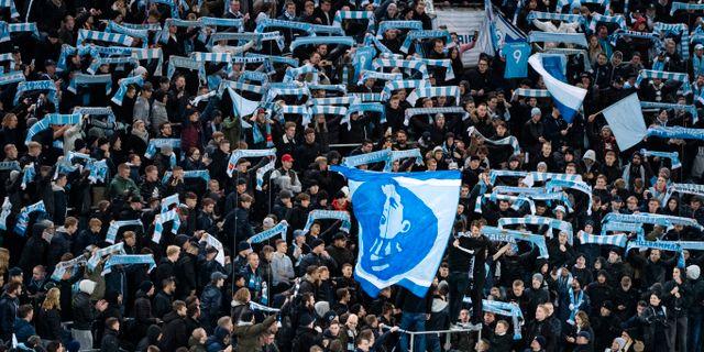 Malmö FF:s klack.  Johan Nilsson/TT / TT NYHETSBYRÅN