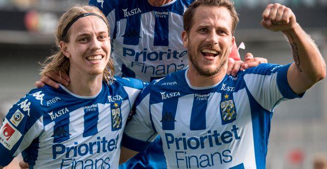 Prioritet Finans har sponsrat IFK Göteborg i åtta år.  Björn Larsson Rosvall/TT / TT NYHETSBYRÅN