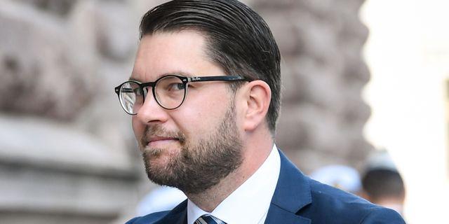Jimmie Åkesson, SD:s partiledare. Fredrik Sandberg/TT / TT NYHETSBYRÅN