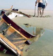 Mannens segelbåt.  Albert Vermeulen/Handout/TT