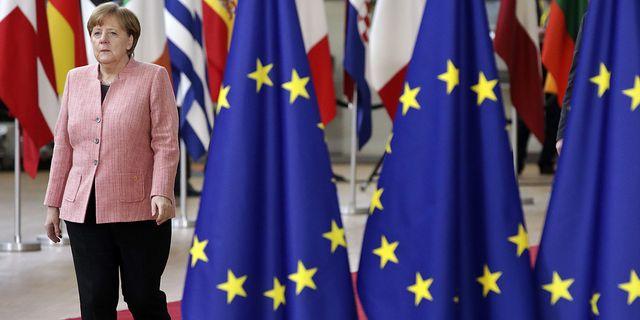 Illustration: Tysklands förbundskansler Angela Merkel. TT
