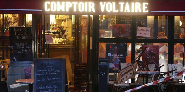 Comptoir Voltaire KENZO TRIBOUILLARD / AFP