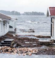Arkivbild: Översvämningar utanför Kalmar Suvad Mrkonjic/TT / TT NYHETSBYRÅN