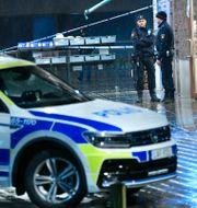Arkivbild. Polis i Malmö.  Johan Nilsson/TT / TT NYHETSBYRÅN