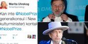 Ulvskog på Twitter, Pagrotsky, Dylan