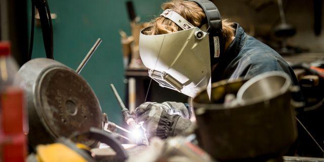 Mekanisk industri. Arkivbild. Nora Lorek/TT / TT NYHETSBYRÅN