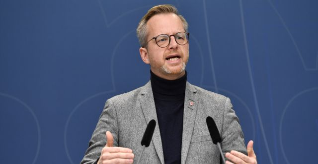 Inrikesminister Mikael Damberg  Henrik Montgomery/TT / TT NYHETSBYRÅN