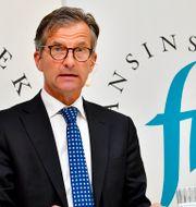 Finansinspektionens generaldirektör Erik Thedéen.  Jonas Ekströmer/TT / TT NYHETSBYRÅN