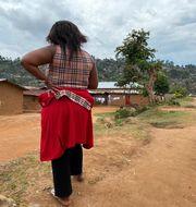 Shekinah erbjöds ett jobb i utbyte mot sex. Hon är ett annat offer än det som beskrivs i texten.  Kudra Maliro / TT NYHETSBYRÅN
