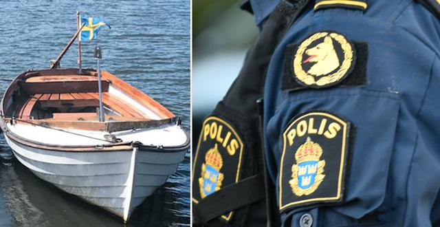 Båten som varit intressant i utredningen/Illustrationsbild. TT