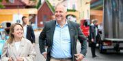 Vänsterpartiets partiledare Jonas Sjöstedt (V) under Vänsterpartiets dag på politikerveckan i Almedalen. Henrik Montgomery/TT / TT NYHETSBYRÅN