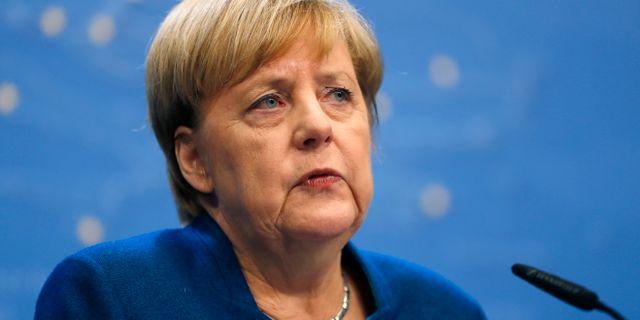 Angela Merkel. Arkivbild. Frank Augstein / TT NYHETSBYRÅN