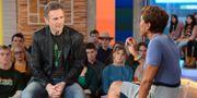 """Liam Neeson gästade """"Good Morning America"""". Lorenzo Bevilaqua / TT NYHETSBYRÅN"""