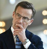 Ulf Kristersson. Henrik Montgomery/TT / TT NYHETSBYRÅN