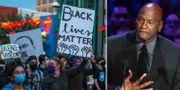 Protester i USA/Michael Jordan. TT