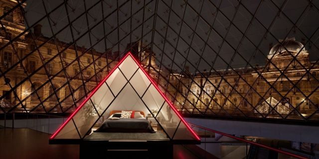 Övernatta på Louvren i Paris – i sällskap av Mona Lisa Airbnb