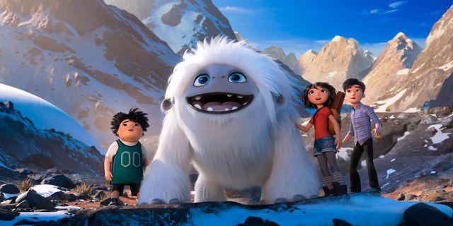 """""""Förfärliga snömannen"""". DreamWorks Animation LLC. / TT NYHETSBYRÅN"""