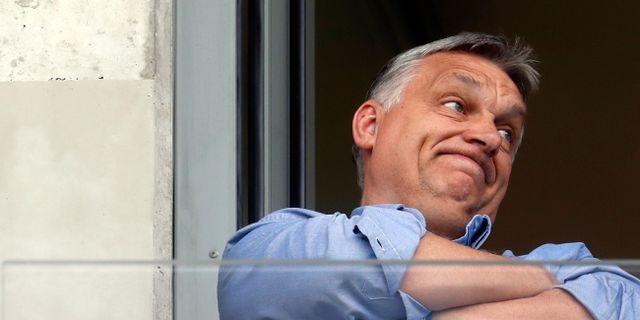 Ungerns högerpopulistiska premiärminister Viktor Orbán.  Laszlo Balogh / TT NYHETSBYRÅN/ NTB Scanpix