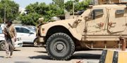 Bild från dagen. Saudisk soldat i Aden, Jemen.  Fawaz Salman / TT NYHETSBYRÅN