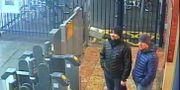 Övervakningsbilder på de två ryska män som ska ha utfört attacken. HO / Metropolitan Police Service