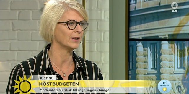 Elisabeth Svantesson TV4 Nyhetsmorgonen