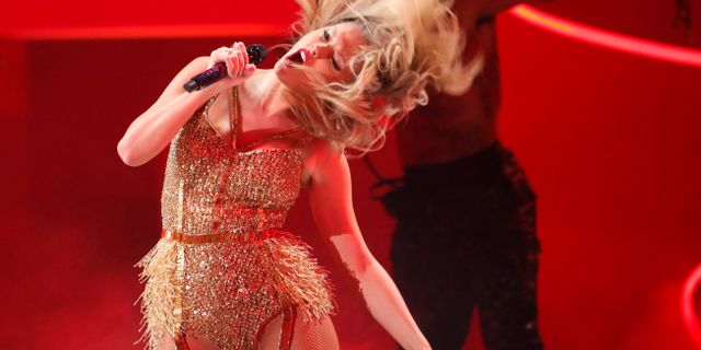 Illustrationsbild: Universal Music-artisten Taylor Swift. MARIO ANZUONI / TT NYHETSBYRÅN