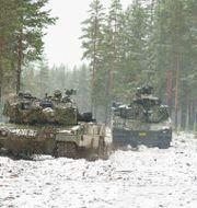 Norska försvaret med Hägglunds CV90. Arkivbild. Vidar Ruud / TT NYHETSBYRÅN