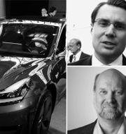 Hampus Engellau och Mikael Wickelgren. Pressbilder & TT