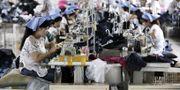 Textilfabrik i Kina. TT.