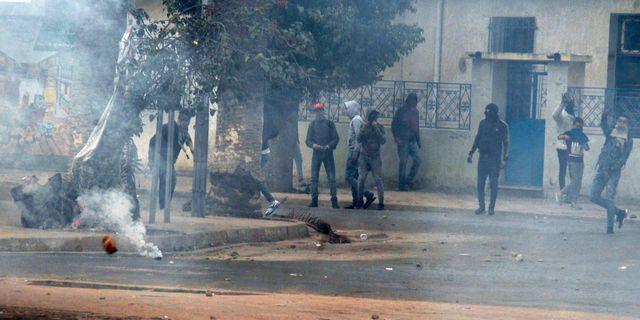 Demonstrationerna i Tunisien. Anis Ben Ali / TT / NTB Scanpix
