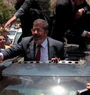 Mursi år 2012, innan han fängslades Mohamed Abd El Ghany / TT NYHETSBYRÅN