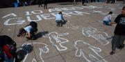 Manifestation till minne av att Mexikos krig mot droger startade/arkivbild från 2016.  Rebecca Blackwell / TT NYHETSBYRÅN